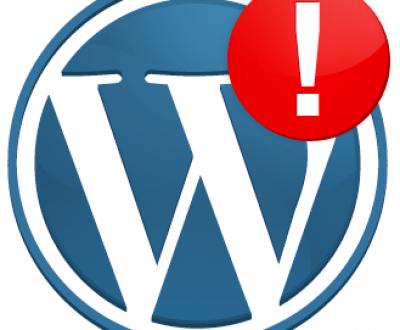wordpress-error